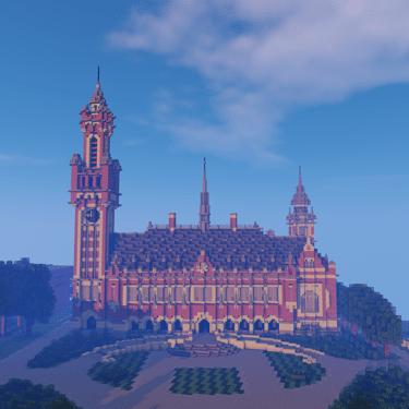 Preview GeoCraft Achtergrond Vredespaleis