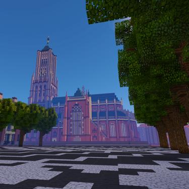 Preview GeoCraft achtergrond Arnhem - GeoFort